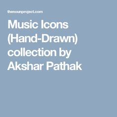 Music Icons (Hand-Drawn) collection by Akshar Pathak