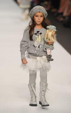 "Fashion Kids For ""Children In Crisis"" - Milan Fashion Week Womenswear Spring/Summer 2012"