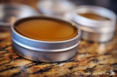 Palm Balm for Rock Climbers & Boo-boos I learned how to make salves this weekend!