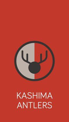 Simple J-league Emblem Kashima Antlers, J League, Football Art, Football Wallpaper, Lululemon Logo, Soccer, Apple Watch, Wallpapers, Design