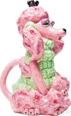Tea Pot Poodle by KARE Design - OMG gotta have this in my teapot collection. She is adorable!