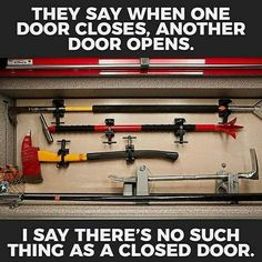 With the right tools, no door is unbreakable Firefighter Images, Firefighter Tools, Firefighter Paramedic, Firefighter Quotes, Volunteer Firefighter, Firefighter Decals, Firefighter Shirts, Fire Dept, Fire Department