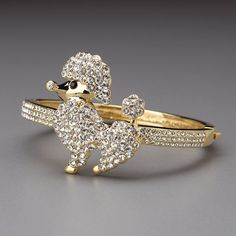 Crystal Poodle Cuff Bracelet by Lenox from Lenox