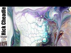 (165) Testing DecoArt Media Fluid Acrylics for acrylic pouring - YouTube