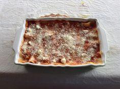Un buon ragù, pasta all'uovo, besciamella e in forno!