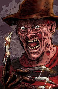 Freddy Krueger Nightmare on Elm Street by ChrisMcJunkin