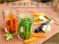 Fermented Vegetables: Simple, Delicious, and Rich in Probiotics!