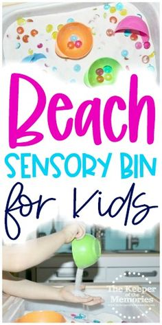 Here's a Quick Sensory Activities Toddlers, Kids Learning Activities, Preschool Themes, Sensory Bins, Preschool Art, Toddler Preschool, Diy Crafts For Kids Easy, Craft Projects For Kids, Kids Crafts