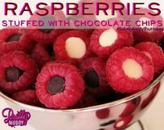 Satisfy your sweet tooth with this quick and easy snack