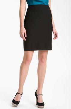 Halogen® Welt Pocket Skirt available at #Nordstrom