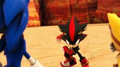 """Shadow: Later Faker"""" Sonic:""""Wait! Shadow!"""" Me: """"Thats my shadow! Sonic: """"Huh?"""" Me: """"Uh,bye!"""