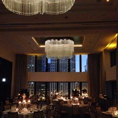 Fall 2014 wedding in the Devonshire Ballroom at The Langham, Chicago.
