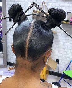Black Girl Braided Hairstyles, Pretty Hairstyles, Easy Hairstyles, Straight Hairstyles, Hairstyle Ideas, Hair Ideas, Weave Ponytail Hairstyles, Protective Hairstyles, Hair Ponytail Styles