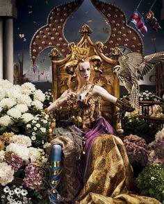 Finlay MacKay - 'Majestic Queens' 2008 Lavazza Calendar