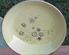 MCM TST Yellow Silver Mist Bowls Taylor Smith Taylor by EdibleComplex on Etsy (Beth), via Flickr