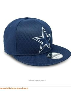 Officially licensed NFL product See product description below for more product details Polyester Adjustable - One size fits all Adjustable strap - Flat visor - Full crown - Six panels - Eight rows of visor stitching with eyelets ABOUT NEW ERA All Nfl Teams, Color Rush, Fan Gear, Dallas Cowboys, One Size Fits All, Gears, Stitching, Product Description, Cap