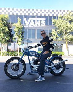 Vans Usa, Bobber Chopper, 50cc, Vintage Bikes, Kustom, Custom Bikes, Tanks, Costa, Motorcycles