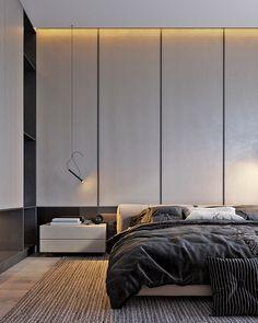 Bedroom ideas and bedroom inspirations Master Bedroom Interior, Modern Bedroom Design, Home Interior, Home Bedroom, Bedroom Decor, Interior Design, Target Home Decor, Cheap Home Decor, H Design