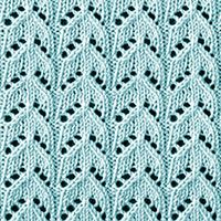 It's a great pattern for afghans or baby blankets. It's a great pattern for afghans or baby blankets. Slip Stitch Knitting, Lace Knitting Patterns, Knitting Stiches, Knitting Charts, Lace Patterns, Loom Knitting, Knitting Designs, Free Knitting, Stitch Patterns