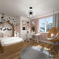 Pokój misia - bedroom furniture for teens Cute Room Decor, Room Decor Bedroom, Kids Bedroom, Hammock In Bedroom, Hammock Chair, Pretty Bedroom, Girl Bedroom Designs, Kids Room Design, Dream Rooms