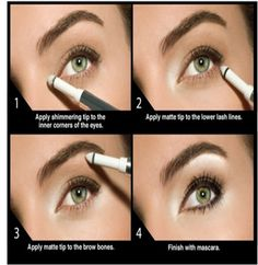 Want to make your eyes pop? Follow these simple steps and look lovely!  Share this wisdom with your friends.