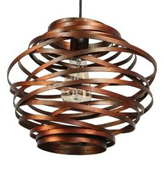 Rust Amalfi Iron Pendant Light Zulily Zulilyfinds