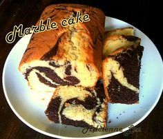 Easy Marble Cake - Lovefoodies hanging out! Tease your taste buds!