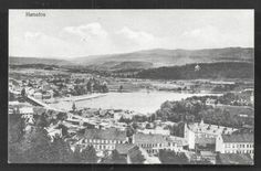 Honefoss-H-nefoss-Aerial-view-Buskerud-Norway-Norge-ca-1910