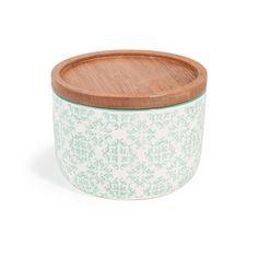 Topf Cocotte aus Porzellan H 7 cm