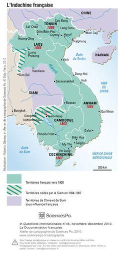 Colonisation, Indochine française