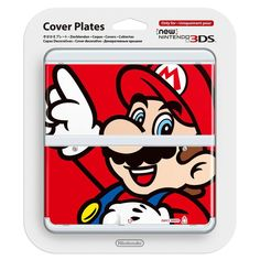 Coque Mario 01 - #New3DS @ReferenceGaming