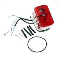 Rücklicht mit roter Kappe BSKL Schwalbe KR51, Spatz SR4-1