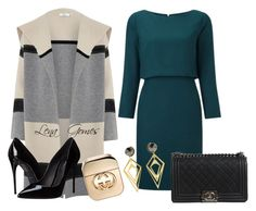 """""""Inspiração!"""" by lenagomes on Polyvore featuring Vince, Dolce&Gabbana, Chanel, Gucci and Sarah Magid"""