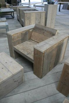 chair wood pallet furniture