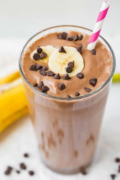 A shake for breakfast? Why not when it's healthy, right? This consists of six basicingredientsingredients you likely always keep on hand and it can be re