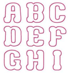 Dynamite image for bubble letter font printable