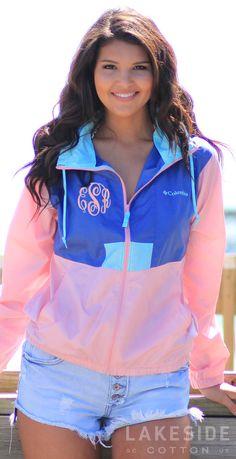Monogrammed Women's Flashback™ Windbreak Jacket