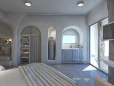 Indoor Architecture Aloni Hotel, ParosParos2018 - 2019PrivateWork in progress290 m2 Resort Interior, Room Interior, Interior Design, Greek Decor, Jacuzzi Outdoor, Paros, Hotel Architecture, Hotel Reception, Villa Design