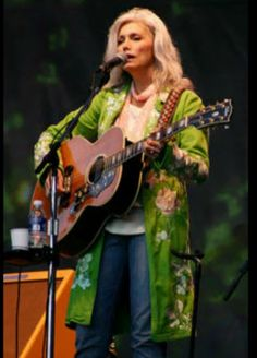 Emmylou Harris & The Band - The last Waltz (evangeline).  Unfortunately, so is the video a little too dark, but the song is excellent