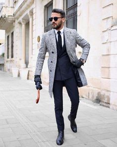 41 Classy Elegant Men Outfits For Business Outfit - Herren- und Damenmode - Kleidung Best Business Casual Outfits, Business Attire For Men, Business Mode, Business Casual For Men, Business Meeting, Fashion Mode, Urban Fashion, Mens Fashion, Fall Fashion