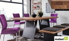 Stół dębowy DOMINO 180 cm, 200 cm lub 220 cm - sklep meblowy Dining Bench, Furniture, Home Decor, Decoration Home, Table Bench, Room Decor, Home Furnishings, Home Interior Design, Home Decoration