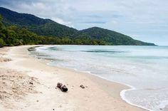 Dit strand staat bekend om zijn groot aantal gevaarlijke wildlife zoals giftige slangen, spinnen en ... - iStock