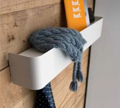 CALLIGARIS | Bumper Rack. A space saving shelf and coat rack in one. #Italianfurntiure #italiandesign