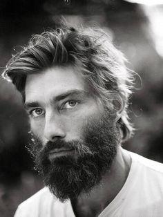 Hip. Jungle. Man. Fresh. Beard. Bushy. Love it! Schedvin.