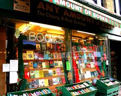 Any Amount of Books, Charing Cross Road, London, UK. In a street committed to ­bookselling this shop stands out for its rapid turnover, eclectic stock and reasonable prices. Outside, there are £1 paperbacks and the basement is given over to ­bargains.
