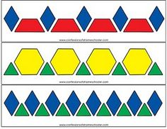 Fantastic Free preschool printables to laminate Thoughts Do you generally wonder the best way to pay for everything? If you have Montessori education and also a classical type Free Pattern Block Printables, Pattern Block Templates, Pattern Blocks, Block Patterns, Pattern Print, Fun Math, Math Games, Preschool Activities, Preschool Printables