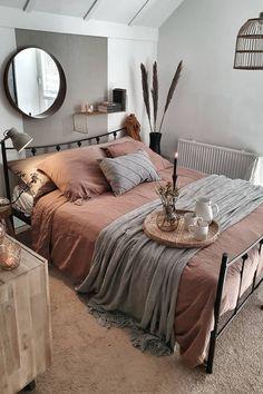 Room Ideas Bedroom, Home Decor Bedroom, Diy Bedroom, Stylish Bedroom, Bedroom Designs, Modern Bedroom, Urban Bedroom, Coastal Bedrooms, Aesthetic Room Decor