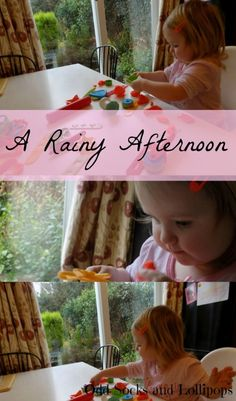 A Rainy Afternoon - the weather has been awful recently so here is how we spent a rainy afternoon and Boo learnt something new!