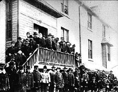 Just after Manitoba became part of Canada in 1870, many came to Winnipeg by river boat and train connections through the northern United States. In 1872, the Canadian government built two immigration sheds at The Forks, each of which could accommodate 500 people.