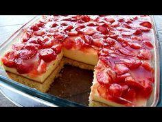 Pudinkový dort s ovocem si získá i ty nejnáročnější strávníky. Sweet Desserts, Hawaiian Pizza, Waffles, French Toast, Cheesecake, Yummy Food, Make It Yourself, Breakfast, Alba